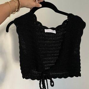 Tops - crochet crop top